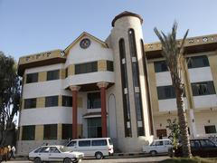 Egypt coptic orthodox christian el-karma center Stock Photos
