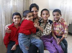 Egypt madriya tadros house keeper at fransiscan Stock Photos