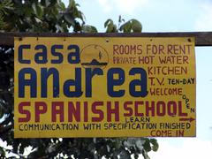 Guatemala spanish language school where classes Stock Photos
