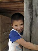 honduras boy of marcala latin america central - stock photo