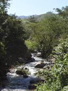 Stock Photo of honduras pristine mountain stream near agua