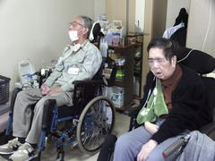 japan alzheimer cases at old peoples home kyoto - stock photo