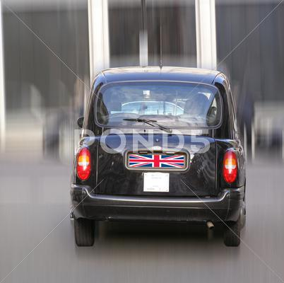 Stock photo of london cab taxi car