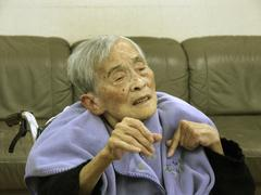 japan alzheimer sufferer old peoples home kyoto - stock photo