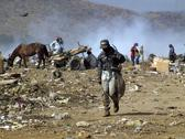Stock Photo of nicaragua scavengers working on the managua dump