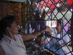 Nicaragua small shop managua latin america Stock Photos
