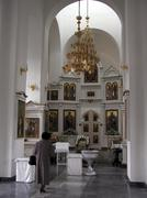 Stock Photo of russia interior of new orthodox church yuzhno