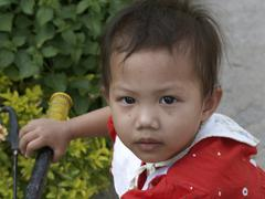 Thailand hiv child kid chiang mai aids people Stock Photos