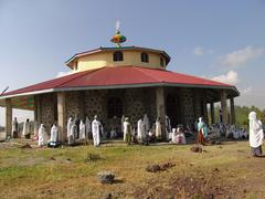 ethiopia debre zeyit orthodox church kuifto new - stock photo