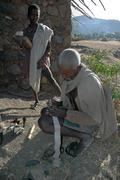 Ethiopia meregeta zewde tadesi scribe who was in Stock Photos