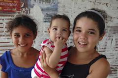 Brazil children kids of mogeiro paraiba 2005 Stock Photos