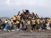 Stock Photo of brazil registered scavengers picking out garbage