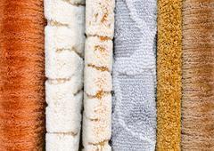 Stock Photo of floor carpet samples