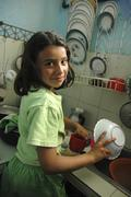 Colombia marly juliet of the slum altos de Stock Photos