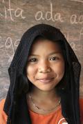 Thailand moslem girl of pattani photo 2005 asia Stock Photos