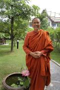 Thailand venerable damnananda an ordained thai Stock Photos