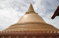 Thailand ancient buddhist temple and stupa of Stock Photos