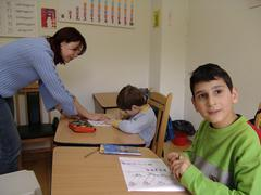 Bulgaria day care centre for children kids with Stock Photos