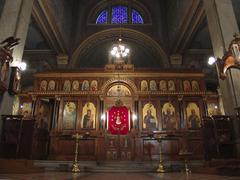 Bulgaria the byzantine catholic church at photo Stock Photos