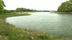 Lagoon Bennets Neck Cape Cod Stock Footage