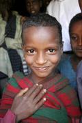Etiopia lasten lapsille meganassie gurage kid Kuvituskuvat