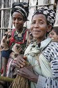 Etiopia lasten lapsille meganassie gurage Kuvituskuvat