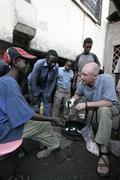kenya kurt klueg street clinic dispensing basic - stock photo