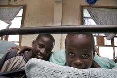 Kenya grandsons of abraham home for street boys Stock Photos
