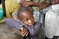 Kenia poika Mombasa-Afrikan lasten kids lapsen Kuvituskuvat