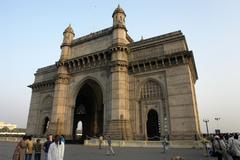 India gate mumbai frame house pattern country Stock Photos