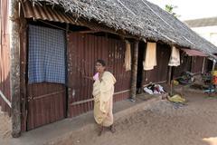 India shelter for tsunami victim tamil nadu to Stock Photos