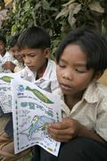 Cambodia community forestry project at chambok Stock Photos