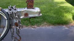 Boat trailer hitch alignment; 2 Stock Footage