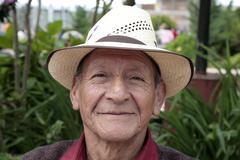 Guatemala older man male san pedro photo latin Stock Photos