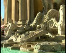 Las Vegas fountain V2 - PAL Stock Footage