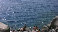Crater Lake 90 Cleetwood Cove Stock Footage