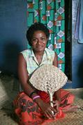 Fiji elena siteri qeleni village taveuni pacific Stock Photos