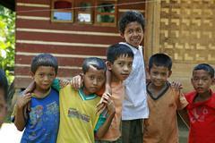 Indonesia cikado village sunda west java asia se Stock Photos
