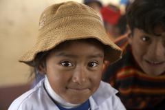 bolivia girl of el alto by 2007 america south - stock photo