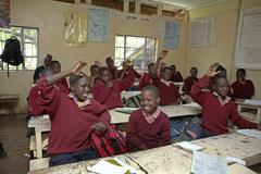 Kenia alakoululaisille kids kristuksen Kuvituskuvat