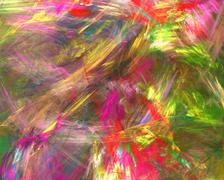 Abstract background. fractal strokes Stock Illustration