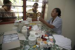 timor leste dispensary of clinic in aileu by - stock photo