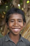 timor leste boy of mahata by 2007 east asia - stock photo