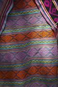 timor leste detail of ikat weave by 2007 - stock photo