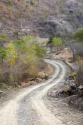 Timor leste new road to kutepe by 2007 east Stock Photos