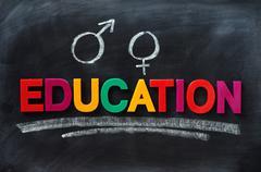 sex education concept - stock photo