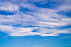 Stratosphere, the sky and clouds. Stock Photos
