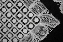 Brazil lace products in community shop pesqueira Stock Photos