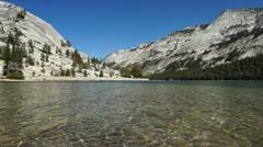 Tenaya Lake, Yosemite - stock footage