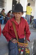 Guatemala mayan man male of san andres el quiche Stock Photos